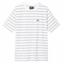 T-shirts Stussy Mini stripe ss jersey 1140061