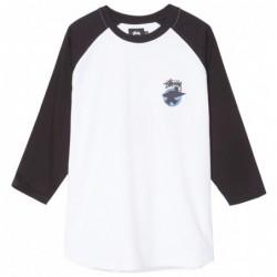 T-shirts Stussy Surfman dot raglan 1140072