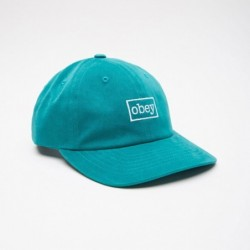 Obey Cappellino Outline 6 panel snapback 100580126