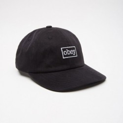 Cappellino Obey Outline 6 panel snapback 100580126