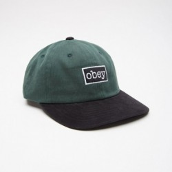 Obey Cappellino Brooks 6 panel snapback 100580124