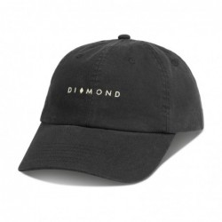 Cappellino Diamond supply Marquise sportcap E51DIAMARSCBLK