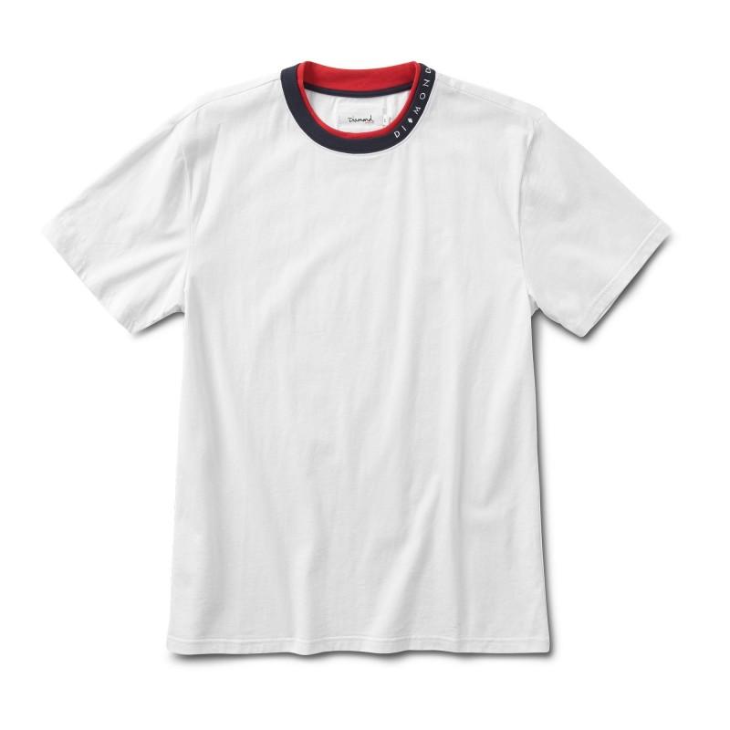 T-shirts Diamond supply Fordham tee E20DIAFORDWHT