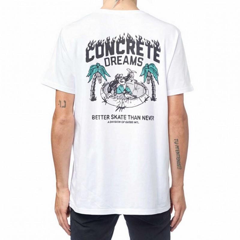 Globe T-shirts Concrete dreams tee GB01720009