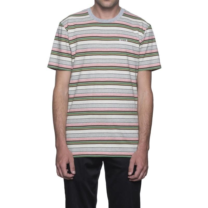 T-shirts Huf Off shore stripe tee KN00056