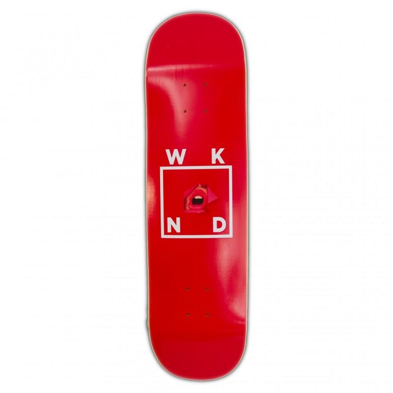 "Wknd Deck skate Lips deck 8.25"" WKNDLPD825"