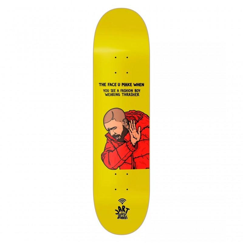 """Jart skateboards Deck skate The face u make when 8.125"""" JABL8A09-04"""