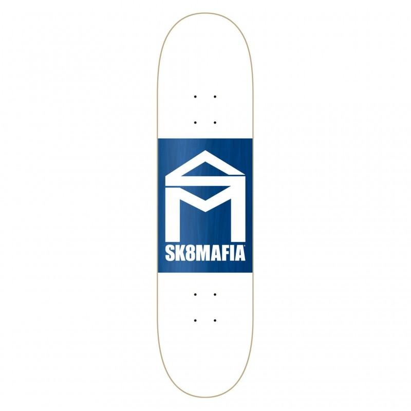 """Deck skate  House logo wht double dip 8.25\\"""" SMBL7A01-05"""