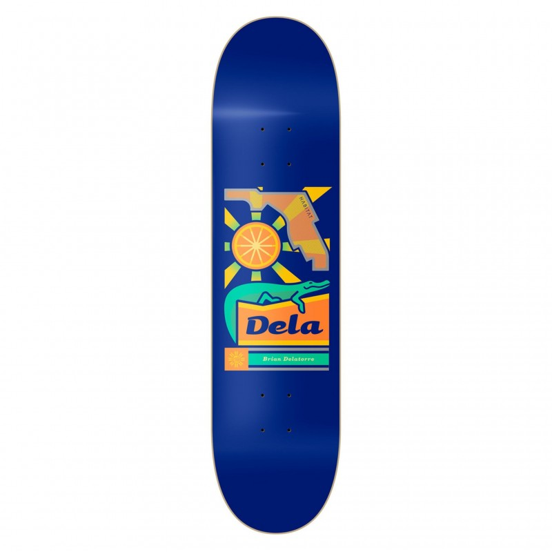 "Habitat Skateboard Deck skate Delatorre gator 8.25"" HBBP7A01-05"