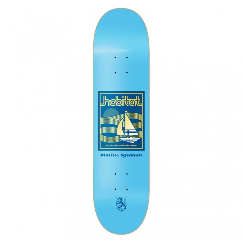 """Habitat Skateboard Deck skate Marius rising tides 8.125"""" HBBP7A01-09"""