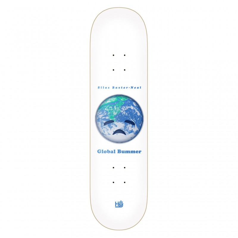 """Habitat Skateboard Deck skate Silax baxter neal global bummer 8.125"""" HBBP7A01-03"""