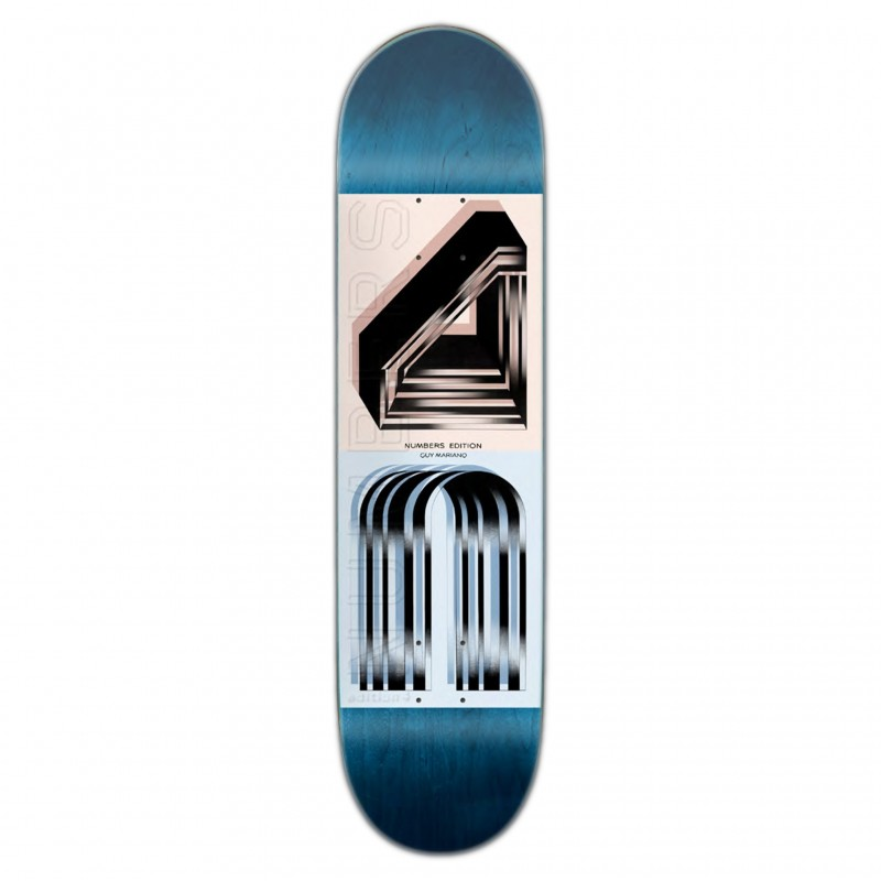 "Deck skate NUMBERS Mariano deck edition 4 8.1\"" NUMED4MA81"