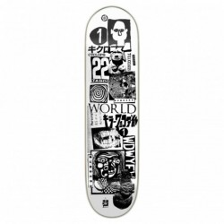 "Deck skate NUMBERS Teixeira deck edition 4 8\"" NUMED4TX8"