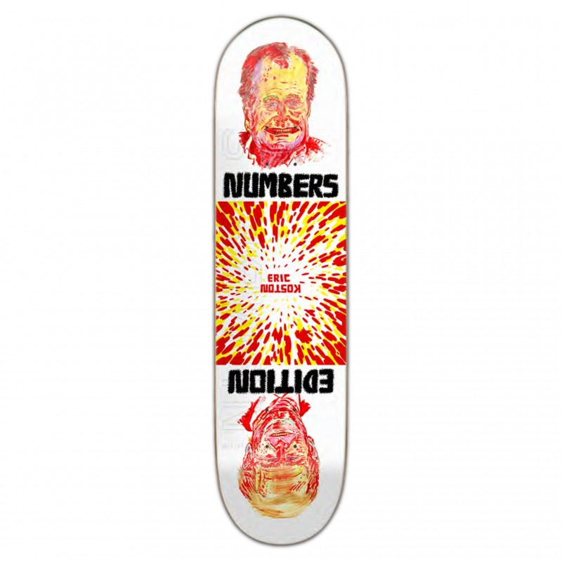 "NUMBERS Deck skate Koston deck edition 4 8.5"" NUMED4KO85"