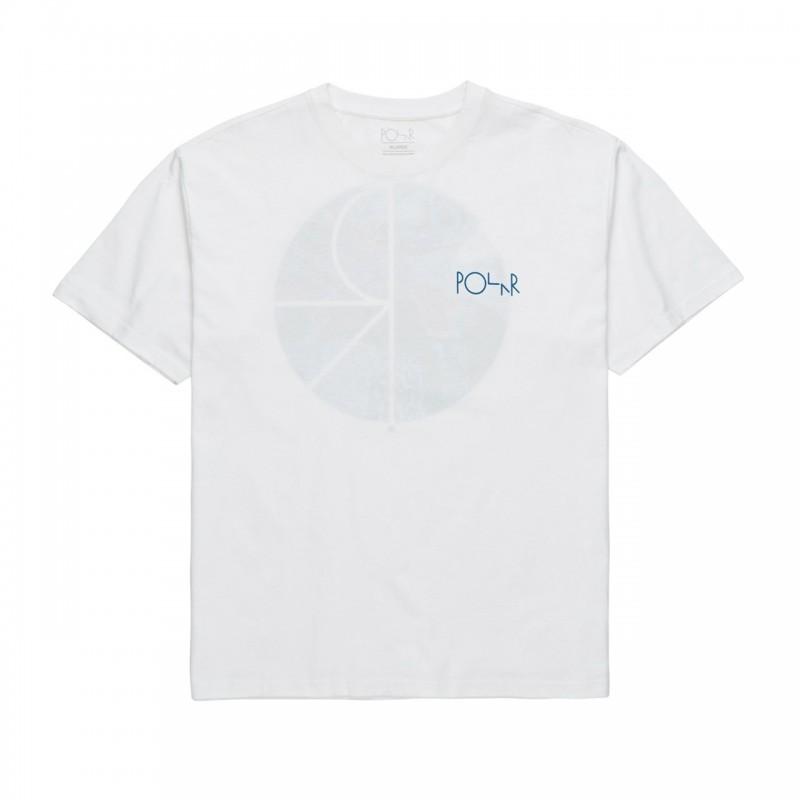 Polar T-shirt e maglie polar Orchid fill logo tee POLORFLTEE