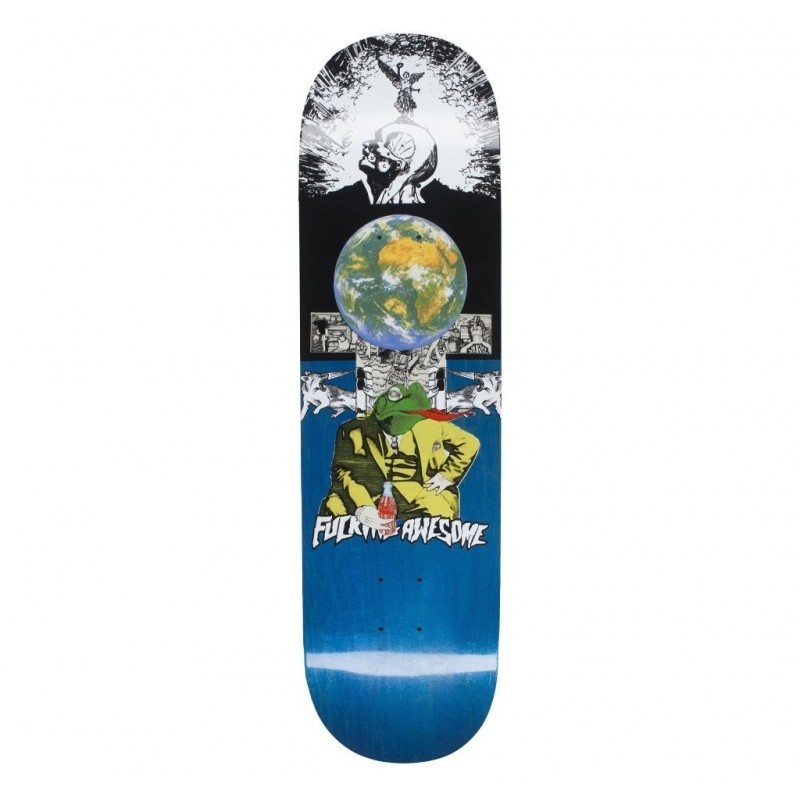 "Fucking awesome Deck skate Terp frog 8.5"" FATEFG85"