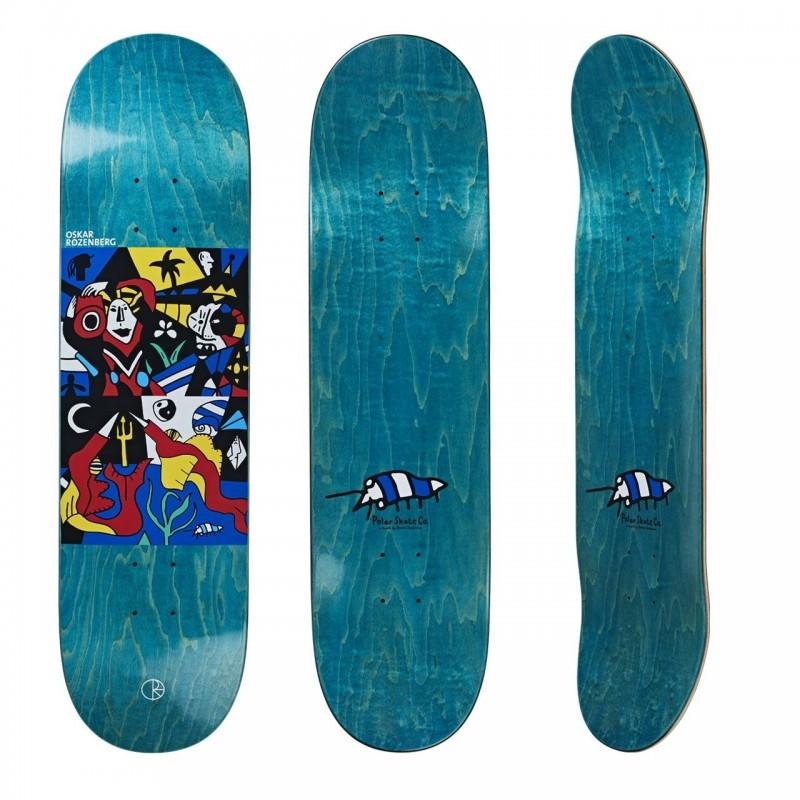 "Deck skate Polar Underwater kingdom 8.25\\"" POLORUK825"