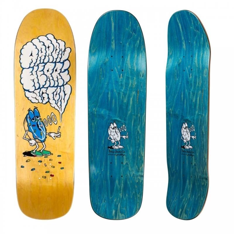 Deck skate Polar Smoking donut 1991 POLAHSD1991