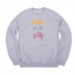 Felpe girocollo Dime mtl Visage embroidered crewneck DIMES1821