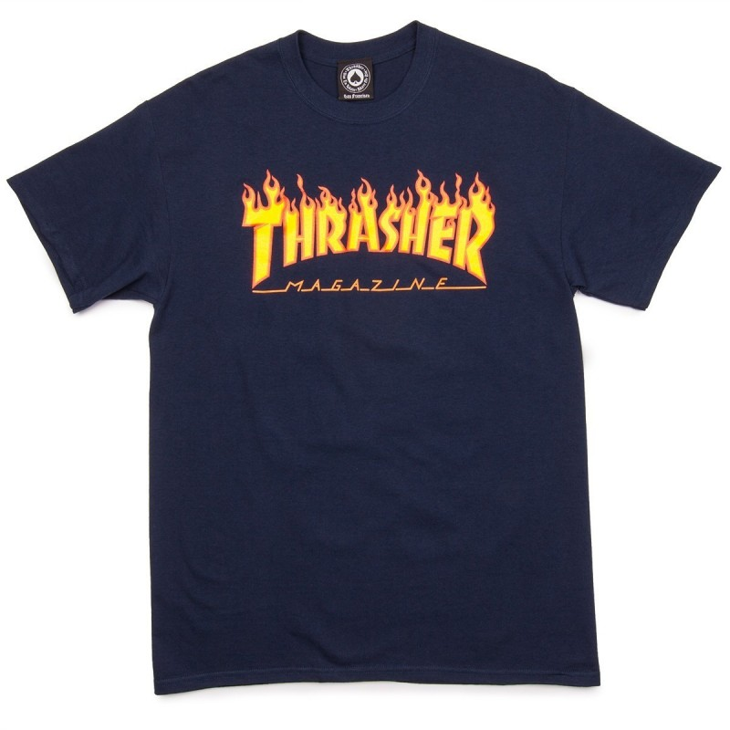 T-shirts Thrasher Flame t-shirt 311019