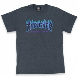 T-shirts Thrasher Flame t-shirt 311161