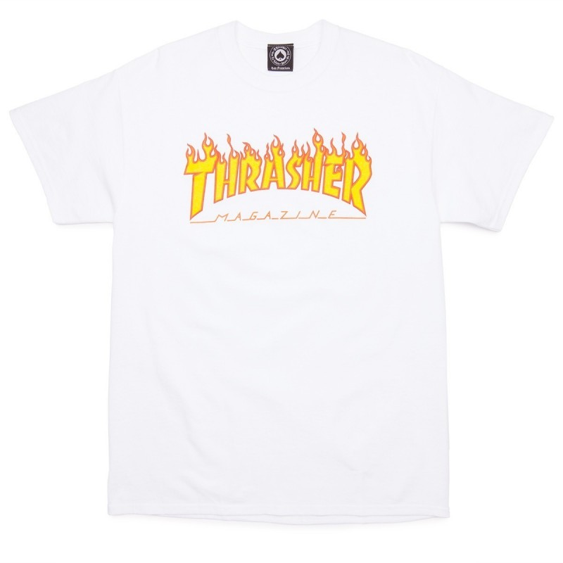 T-shirts Thrasher Flame t-shirt 311019