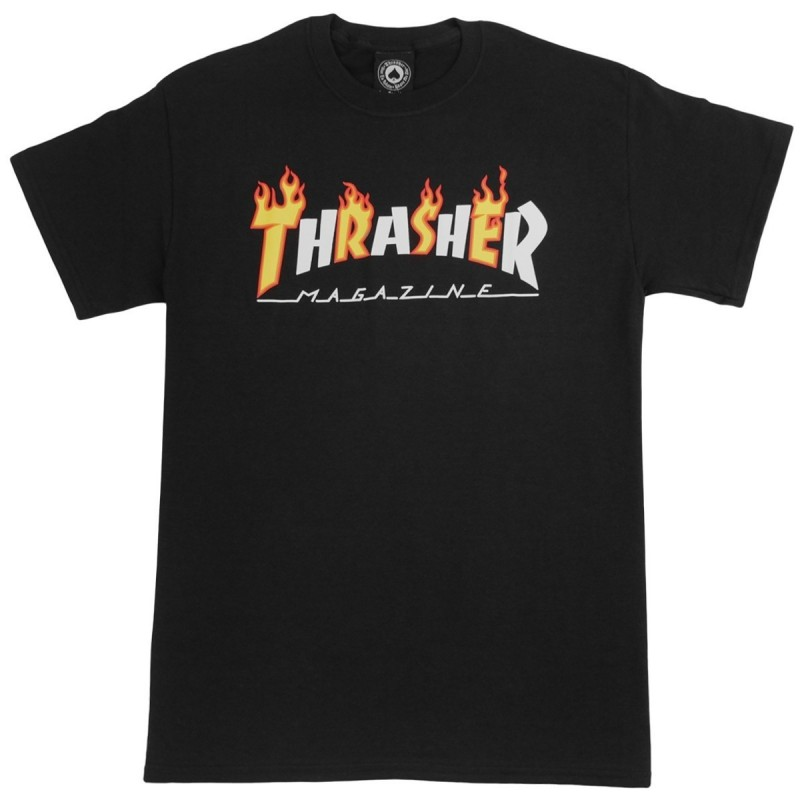 T-shirts Thrasher Flame mag s/s tee 311194