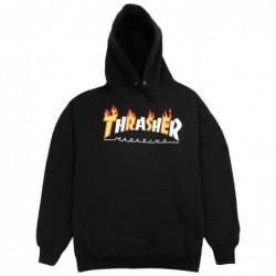 Felpe cappuccio Thrasher Flame mag hood 314265
