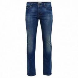 Jeans e pantaloni Only&sons Loom blue damage cr8514 22008514