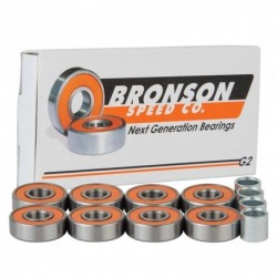 Bronson speed co Cuscinetti skate Bronson bearings g2 9561