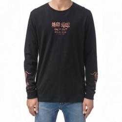 T-shirt maniche lunghe Globe Half cut ls tee GB01710015