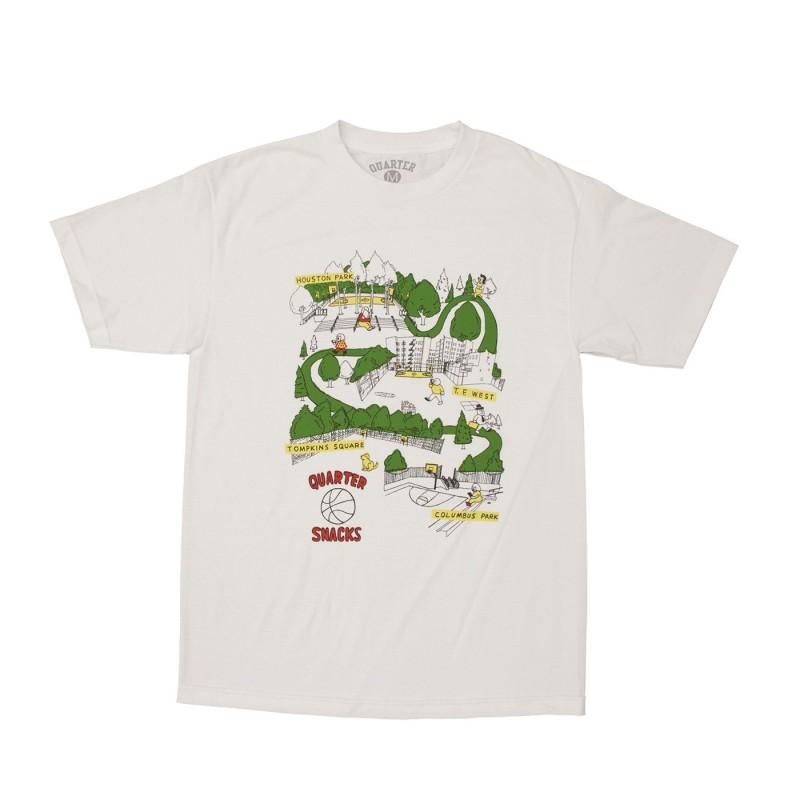 T-shirts Quartersnacks Courts tee COWHT