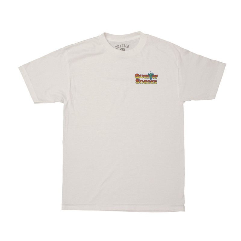T-shirts Quartersnacks Cactus tee CACWH
