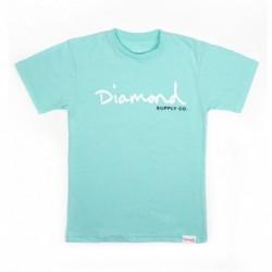 T-shirts Diamond supply Og script core tee E20DIAOGSCCDMBL