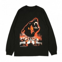 T-shirts Buttergoods Doberman long sleeve tee BUG325