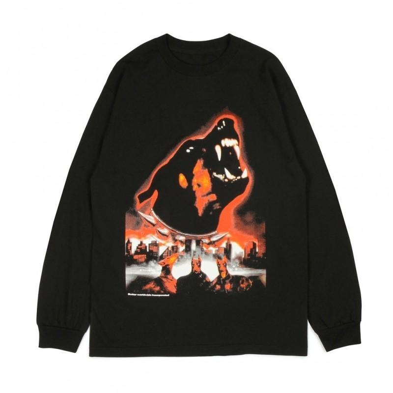 T-shirts Buttergoods Doberman long sleeve tee BUG325