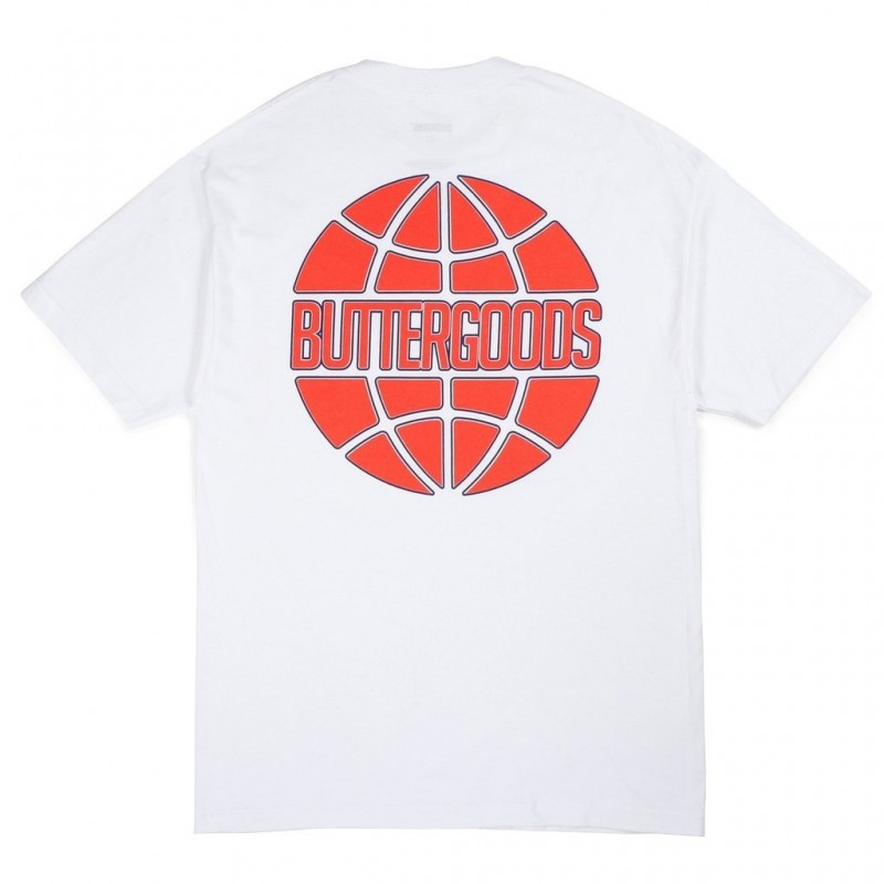 T-shirts Buttergoods Keyline worldwide logo tee BUG324