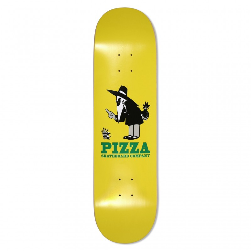 "Pizza skateboards Deck skate Western spy deck 8.375"" PISKBP029"