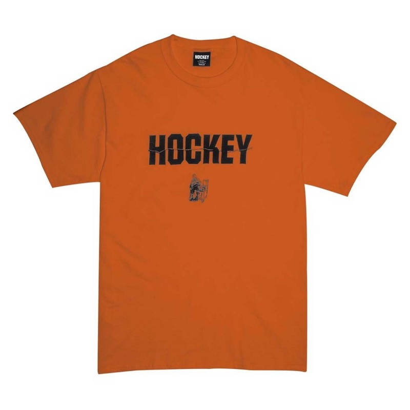 T-shirts Hockey Ben silence HOBENSTEE