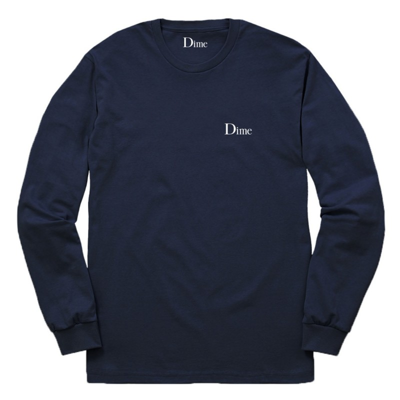 T-shirt maniche lunghe Dime mtl Classic logo l/s t-shirt DIMES1814