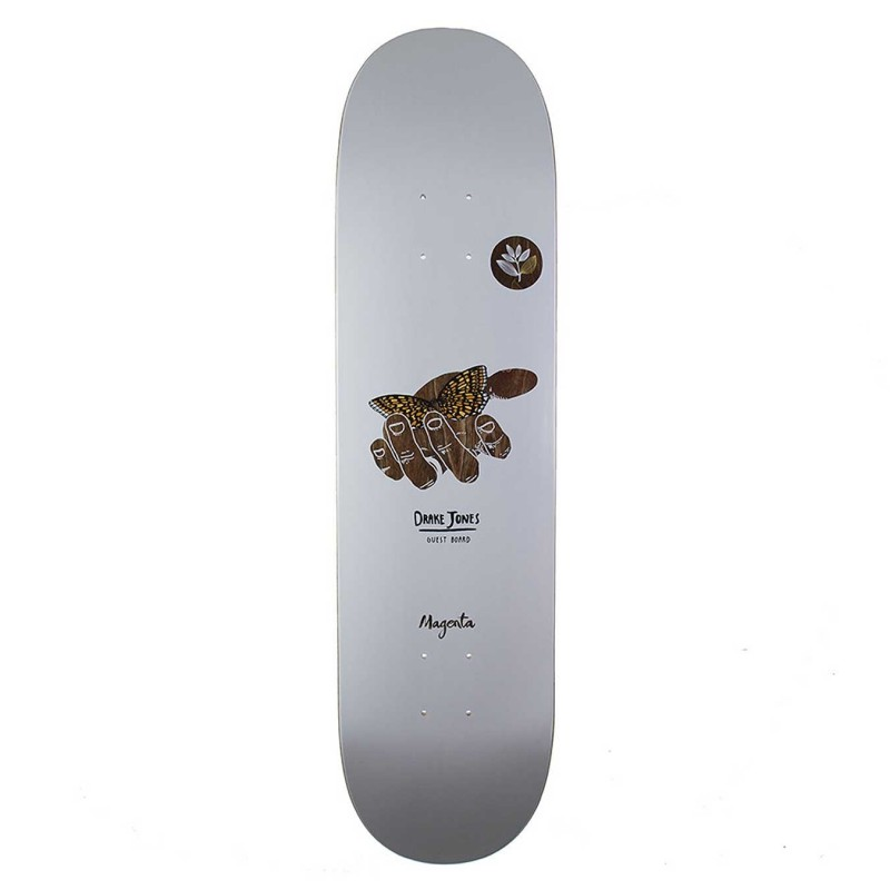 "Deck skate Magenta skateboard Drake jones 8.125\\"" MGNDJG8125"