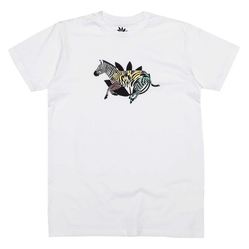 T-shirts Magenta skateboard Zebra tee MGNTEEZEBW