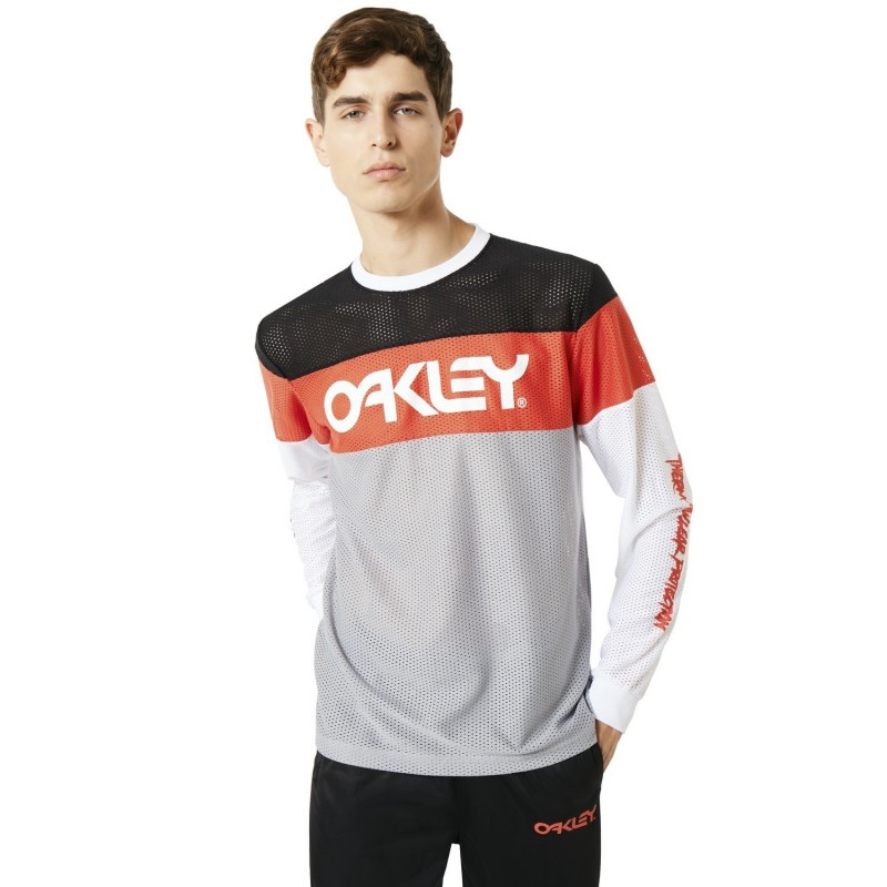 Felpe girocollo Oakley Tnp color block sweatshirt 457749