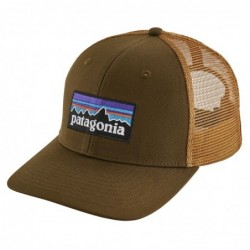 Cappellino Patagonia P-6 logo trucker hat 38017