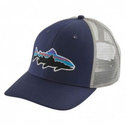 Cappellino Patagonia Fitz roy trout trucker hat 38008