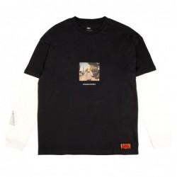 T-shirt maniche lunghe Globe Ue dunche ls tee GB01830037