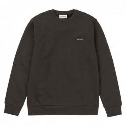 Felpe girocollo Carhartt Script embroidery sweatshirt I025481