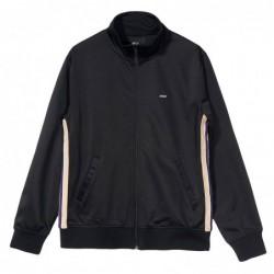 Felpe girocollo Stussy Textured rib track jacket 115414