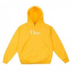Dime mtl Felpe cappuccio Dime classic logo hoodie DIMEF1817GOLD