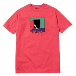 T-shirts Dime mtl Entrance t-shirt coral DIMEF1803CRL